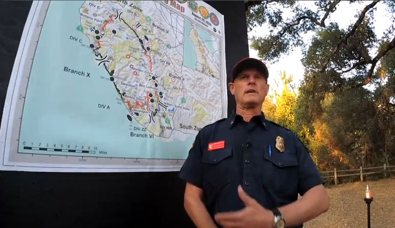 INCIDENT UPDATE: CZU LIGHTNING COMPLEX, AUG 30, 2020, 7AM and CAL FIRE Q&A